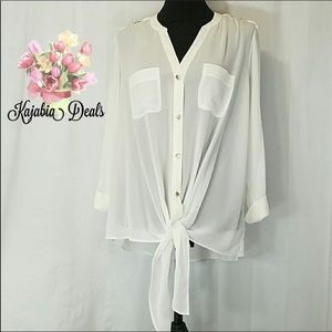 NEW DIRECTIONS Top NWT Size 1X
